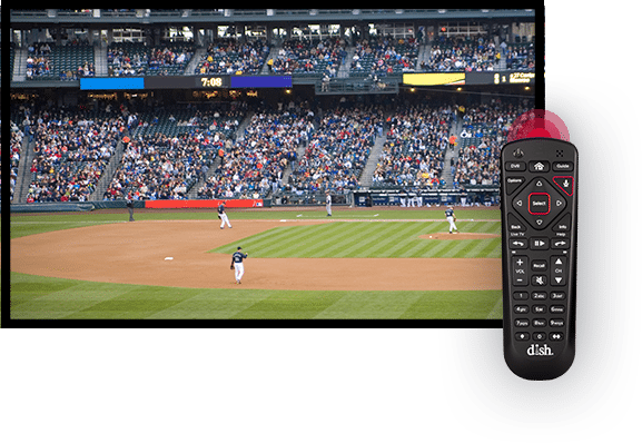 Watch Sports with the DISH Voice Remote - Madison, Maine - K Tronics - DISH Authorized Retailer